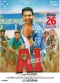 Santhanam in Accused No 1 Movie Release Posters