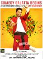 Actor Santhanam in A1 Movie Release Posters