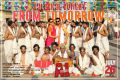 Tara Alisha Berry, Santhanam in A1 Movie Release Posters