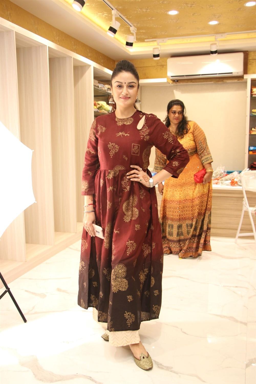Sonia Agarwal @ AA Guru Silks Launch Photos
