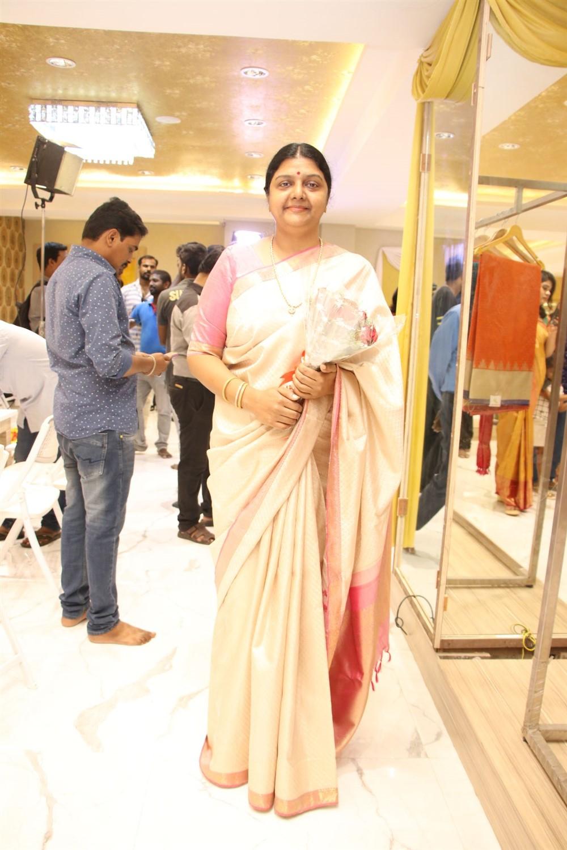 Actress Bhanupriya @ AA Guru Silks Launch Photos