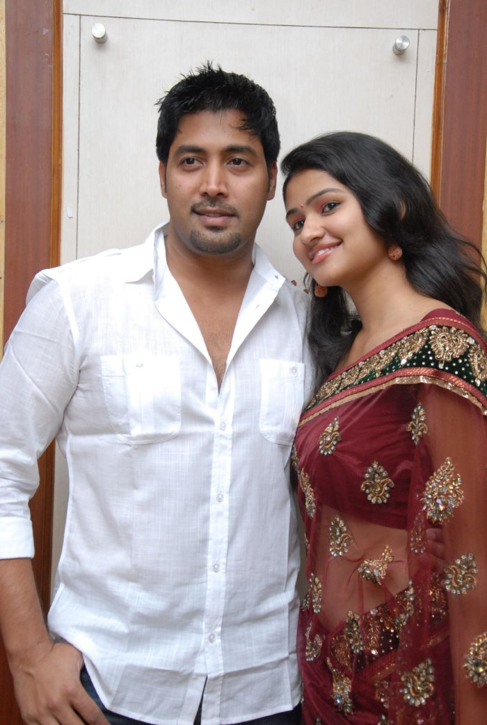 Jai Akaksh, Kousalya at Aa Iddaru Movie Audio Release Photos