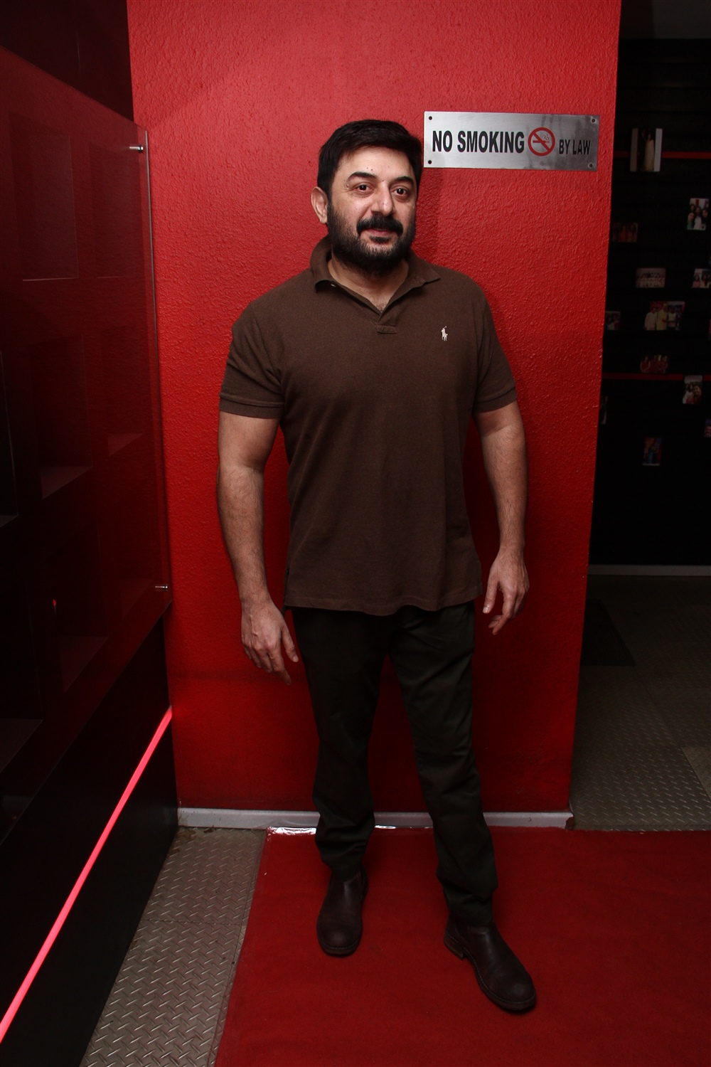 Arvind Swamy @ Aadai Movie Celebrities Show Stills