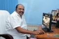 Producer J.Anbazhagan at Aadhi Bhagavan Website Launch Photos