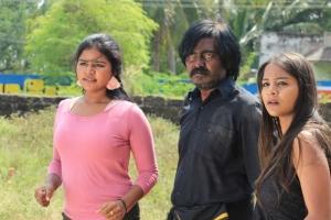 Actor Bhagavathi Bala in Aadhika Vargam Movie Stills