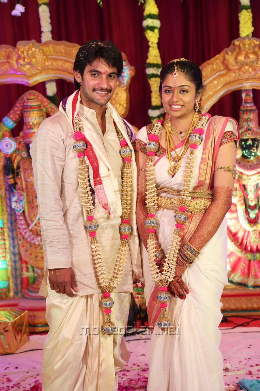 Telugu Heroine Soundarya Marriage Photos