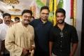 Saikumar, Vamsi Paidipally @ Aadi Sri Hanuman Movie Makers Prod No 2 Movie Opening Stills