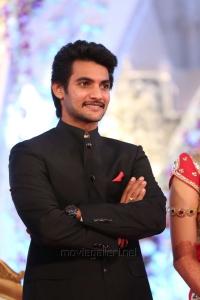 Hero Aditya Pudipeddi Wedding Reception Stills