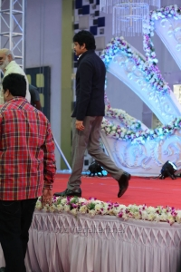 Nagarjuna @ Hero Aadi Wedding Reception Stills
