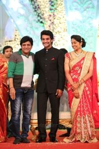 Ali @ Hero Aadi Wedding Reception Stills