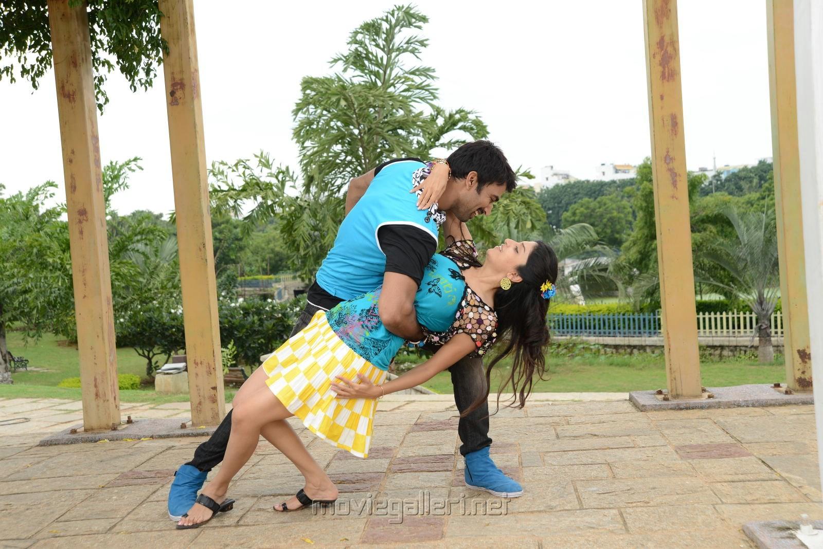 Sudheer Babu, Asmita Sood in Aadu Magadu Ra Bujji Movie Stills