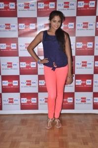 Actress Asmita Sood @ Aadu Magadura Bujji Audio Teaser Launch in BIG FM Photos