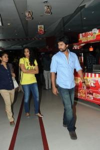 Nani with his wife Anjana Yelavarthy @ Aaha Kalyanam Press Show