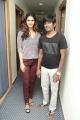 Vaani Kapoor, Dharan Kumar @ Aaha Kalyanam Team at BIG FM, Hyderabad Photos