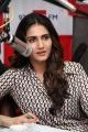 Actress Vani Kapoor @ Aaha Kalyanam Movie Team at BIG FM, Hyderabad Photos