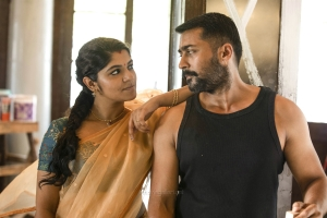Aparna Balamurali, Suriya in Aakaasam Nee Haddhu Ra Movie HD Images