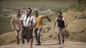 Suriya, Kaali Venkat, Vivek Prasanna, Krishnakumar in Aakaasam Nee Haddhu Ra Movie HD Images