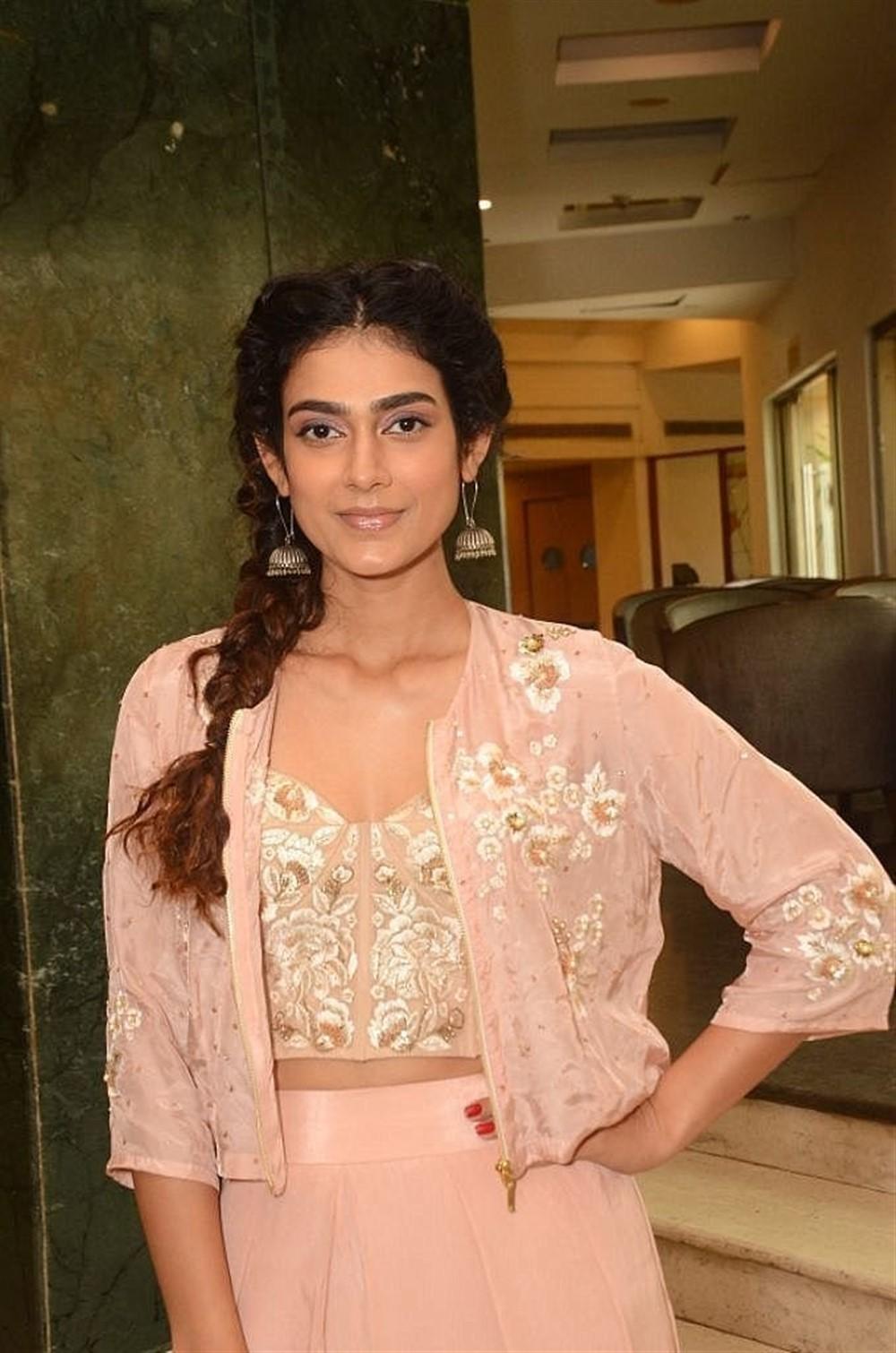 Actress Akanksha Singh Pics @ JITO Lifestyle and Jewellery Expo Curtain Raiser