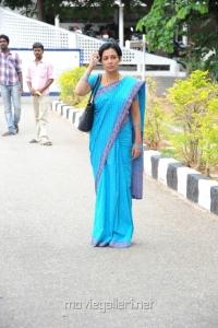 Asha Saini at Aakasam Lo Sagam Press Meet Stills