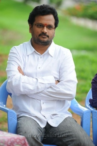 Director Chandra Mahesh at Aakasam Lo Sagam Press Meet Stills