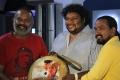 Venkat Prabhu, Veludoss, Srikanth Deva @ Aakkam Audio Launch Stills
