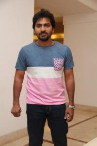 Vaibhav Reddy @ Aambala Movie Success Meet Stills