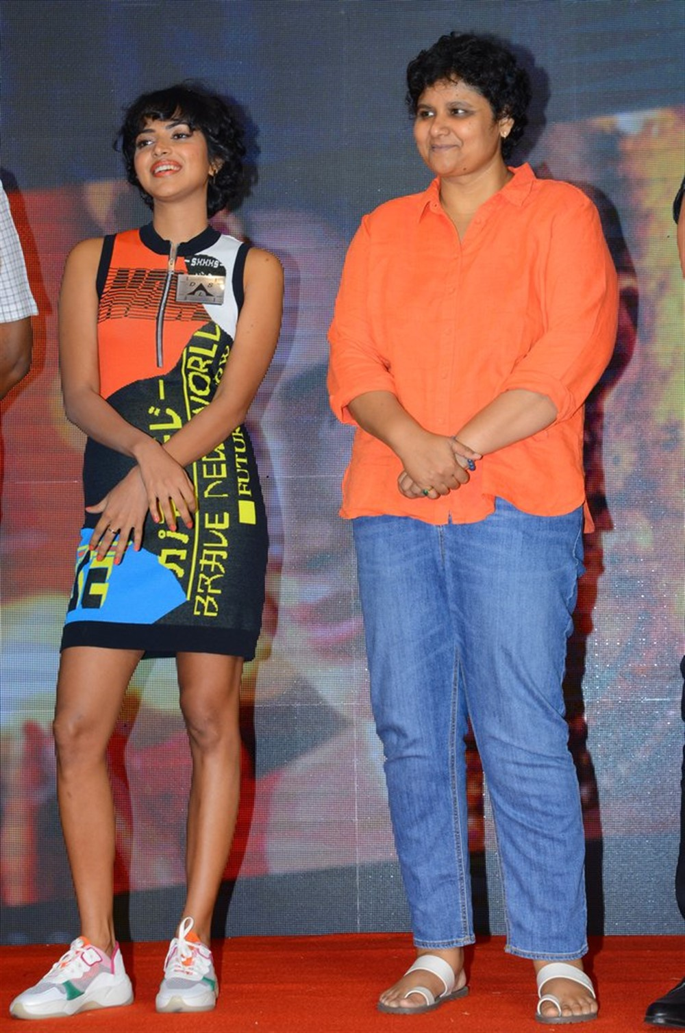 Amala Paul, Nandini Reddy @ Aame Movie Press Meet Photos
