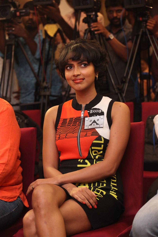 Actress Amala Paul @ Aame Movie Press Meet Photos