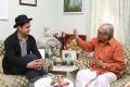 Actor Aamir Khan Meets Director K.Balachander Photos