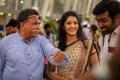 Nassar, Ritika Singh in Aandavan Kattalai Movie Stills