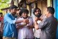 Yogi Babu, Vijay Sethupathi in Aandavan Kattalai Movie Stills