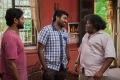 Vijay Sethupathi, Yogi Babu in Aandavan Kattalai Movie Stills