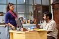 Pooja Devariya, Vijay Sethupathi in Aandavan Kattalai Movie Stills