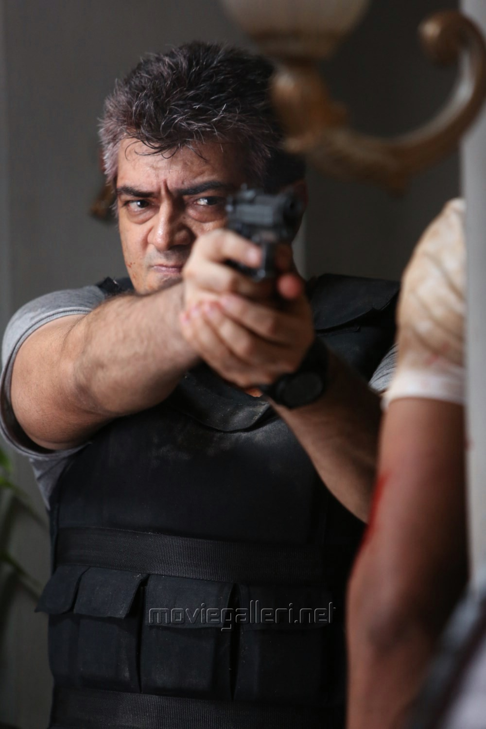 Picture 595817 | Tamil Actor Ajith in Aarambam Movie ... Ajith In Aarambam Poster