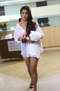 Actress Nayanthara in Aarambam Movie Latest Stills