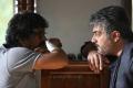Vishnuvardhan, Ajith at Aarambam Movie Shooting Spot Stills
