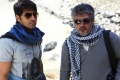 Arya, Ajith at Aarambam Movie Shooting Spot Stills