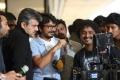 Ajith, Vishnuvardhan, OM Prakash @ Aarambam Movie Shooting Spot Stills