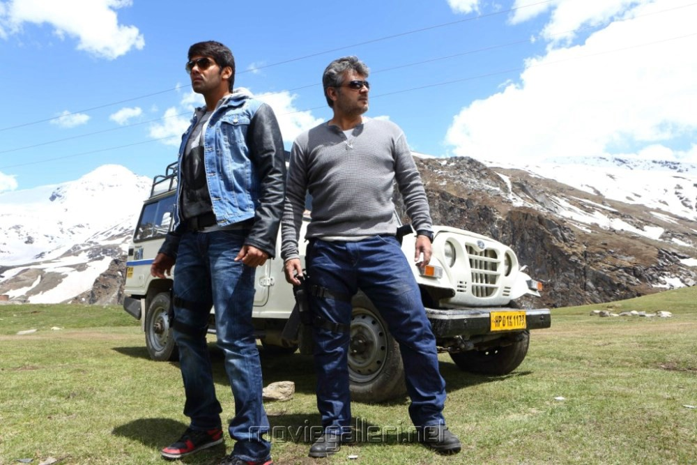 Arya, Ajith in Aarambam Movie Stills [ Gallery View ]