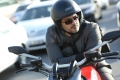 Actor Ajith with Ducati Bike in Aarambam Movie Stills