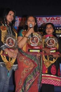 Jai Guheni, Lakshmi Ramakrishnan, Viji Chandrasekhar at Aarohanam Movie Felicitated Event Stills