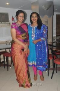 Lakshmi Ramakrishnan, Viji Chandrasekar at Aarohanam Movie Success Meet Stills