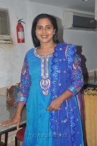Actress Viji Chandrasekhar at Aarohanam Movie Success Meet Stills