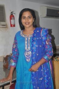 Actress Viji Chandrasekar at Aroganam Movie Success Meet Stills