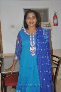 Actress Viji Chandrasekhar at Aarohanam Movie Success Meet Photos
