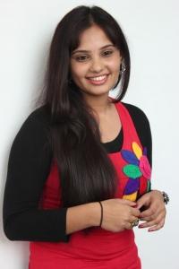 Actress Aarushi Stills at Manipaya Movie Launch
