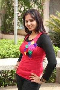 Tamil Actress Aarushi Stills at Manipaya Movie Launch