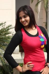 Actress Aarushi Stills at Mannipaaya Movie Launch