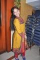 Actress Aarushi Cute Stills in Mustard Color Salwar Kameez