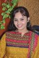Tamil Actress Aarushi Cute Stills in Mustard Color Salwar Kameez